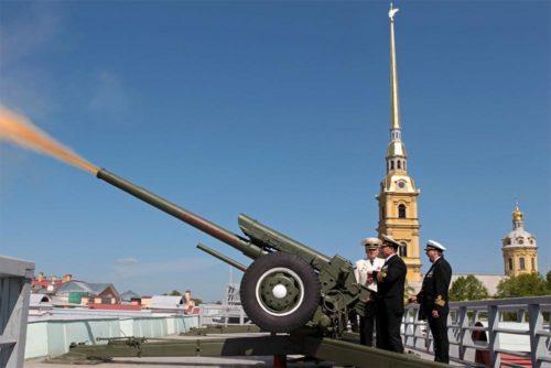 выстрел петропавловская крепость