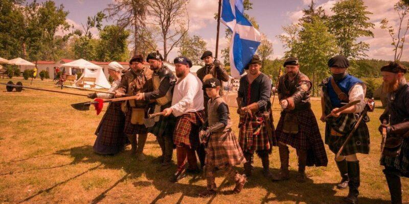 Праздник шотландской культуры